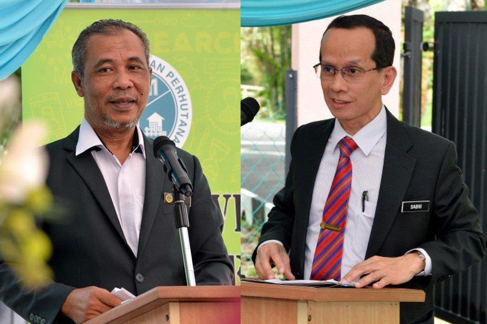 Abd Latif (kiri) dan Sabri