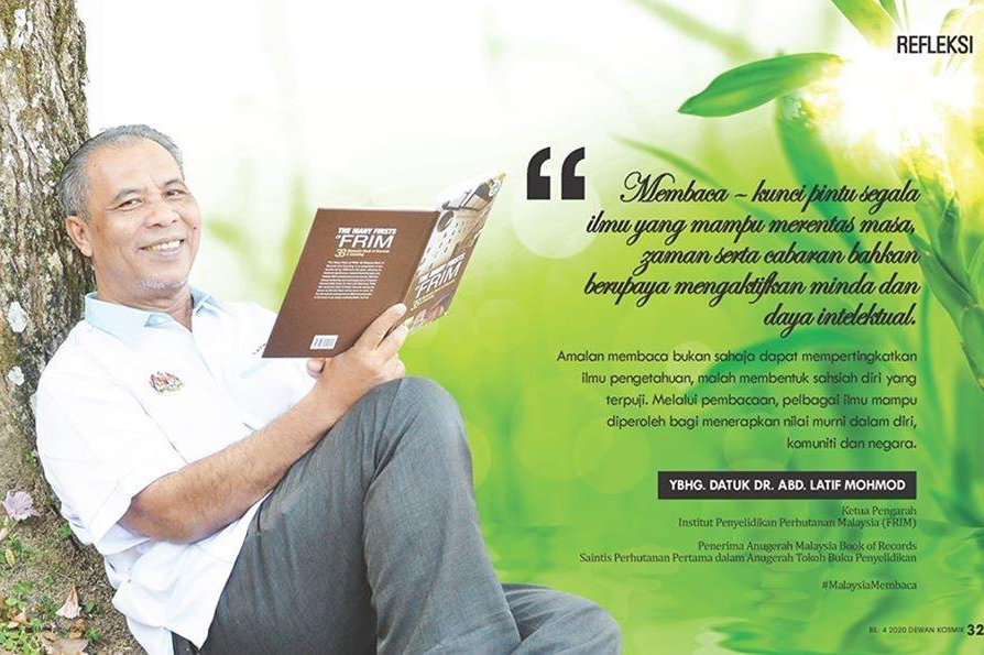 KP FRIM - Tokoh Malaysia Membaca