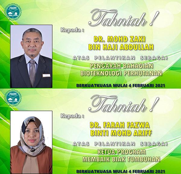 Mohd Zaki (atas) dan Farah Fazwa