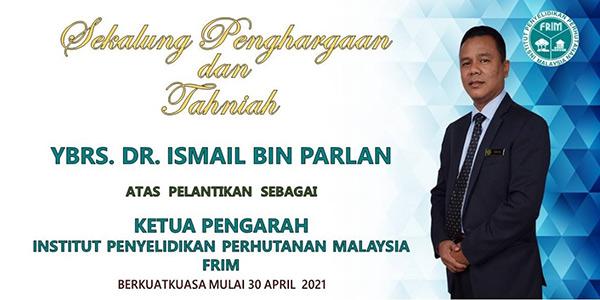 Ismail Parlan, KP FRIM Ke-5