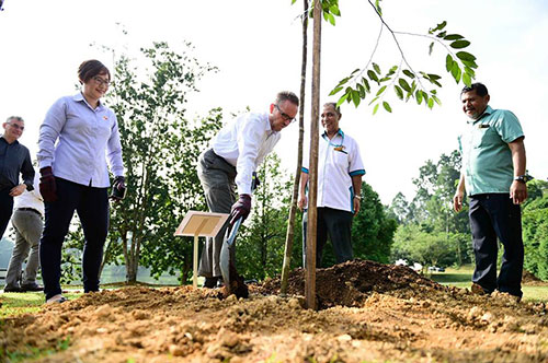 Commemorative Tree Planting by Finland Ambassador to Malaysia