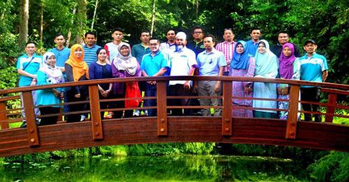 Gambar berkumpulan peserta Kursus Ujian Pembebasan Formaldehid