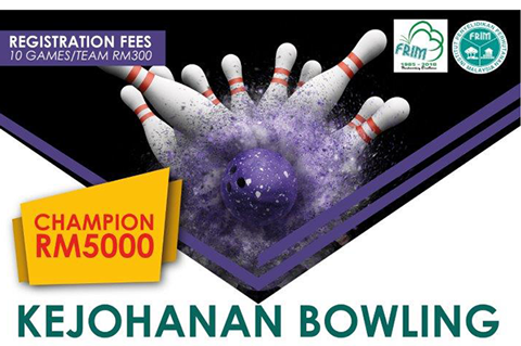 Bowling Piala Ketua Pengarah FRIM