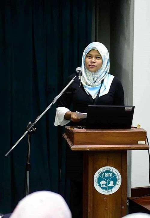 """""""Kami menghargai kerjasama dan sokongan yang diberikan untuk memulihara kampus ini,"""" kata Liza Ismail."""