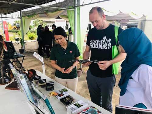 Pegawai Penyelidik Biodiversiti Hutan FRIM