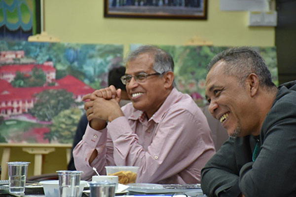 Abd Latif (right) and Samsudin